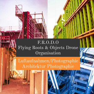 Frodo flying roots u objects drone organisation